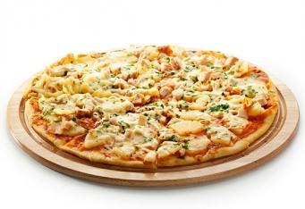Pizza skuřecím soté